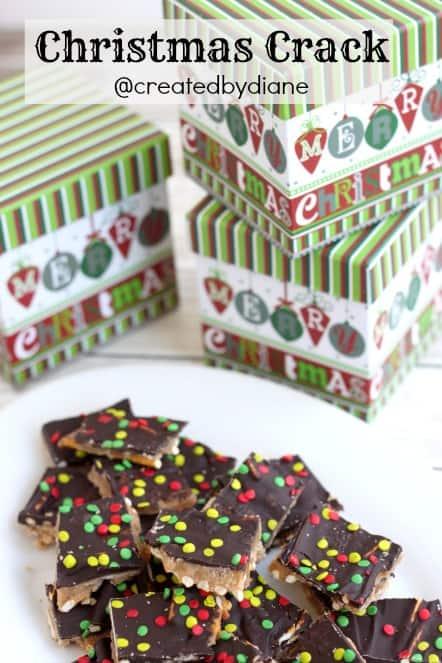 christmas crack pretzel toffee