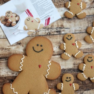 Giant Gingerbread Boy Cookies
