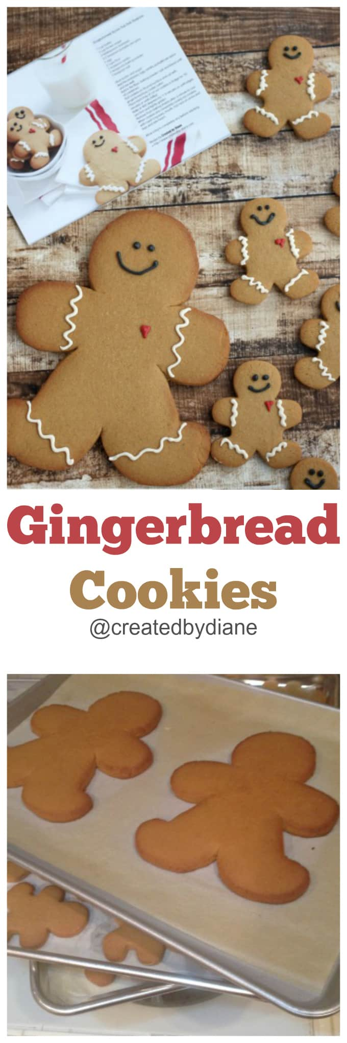 gingerbread cookies from @createdbydiane