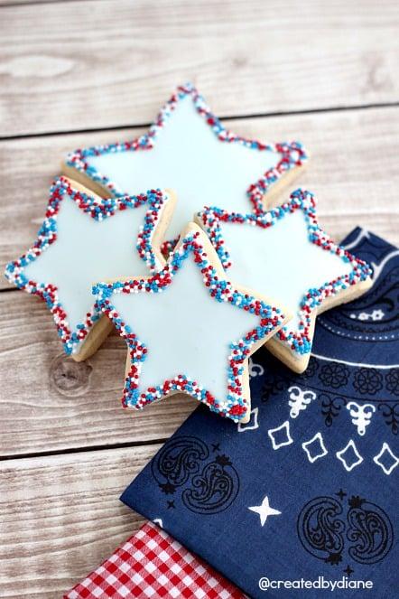 Star Spangled Cookies @createdbydiane.jpg