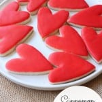 Cinnamon RED HOT Heart Cookies @createdbydiane