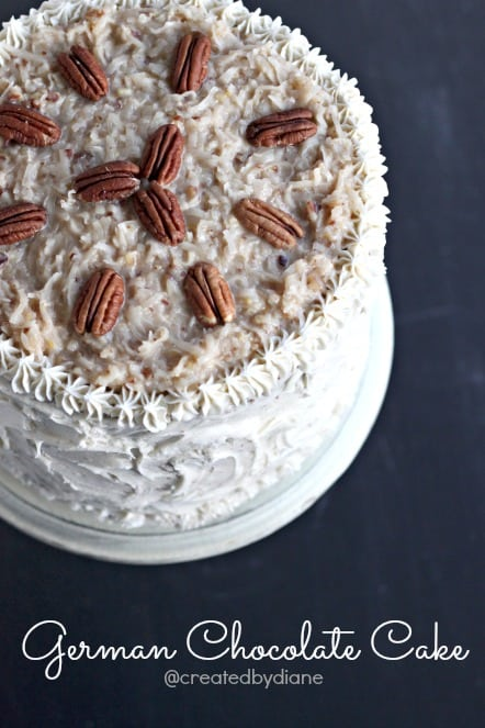 Easy 3 Layer German Chocolate Cake With Buttercream