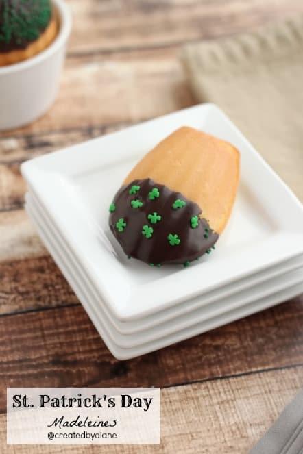 St. Patrick's Day Madeleine @createdbydiane