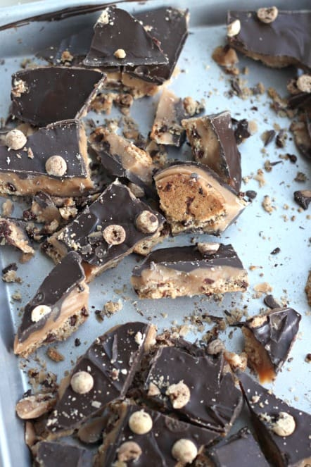 choc chip cookie toffee from Created by Diane