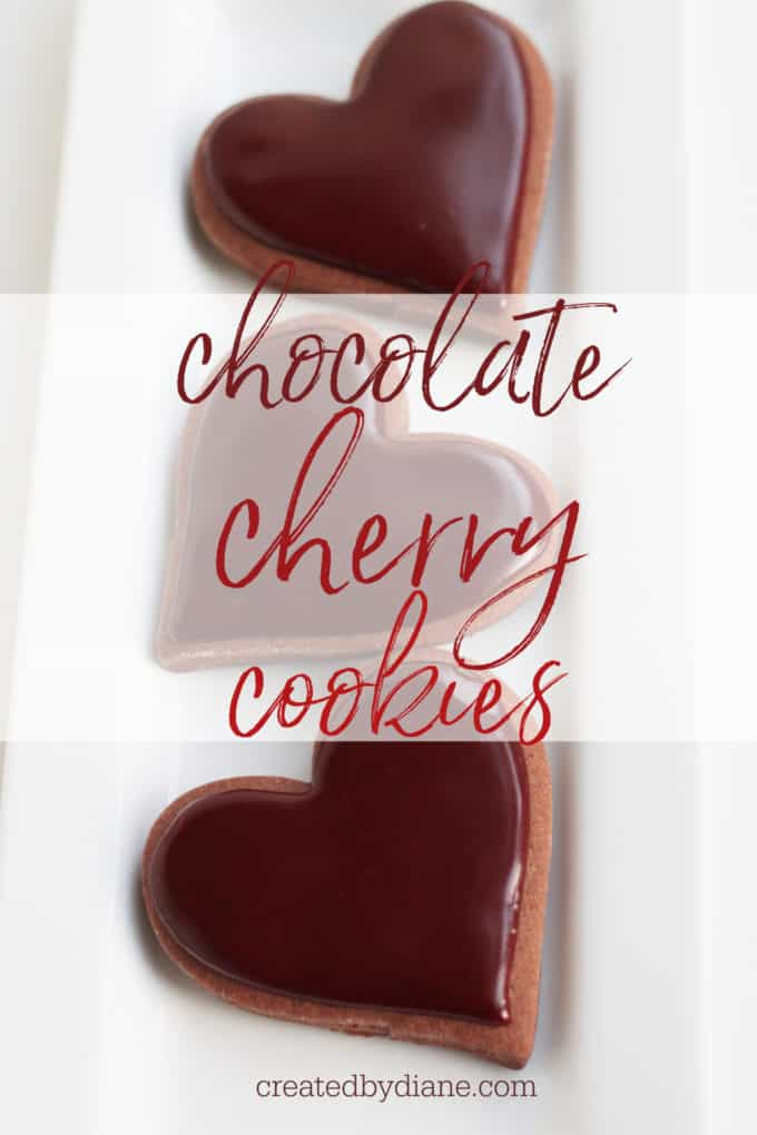 chocolate cherry cookies createdbydiane.com