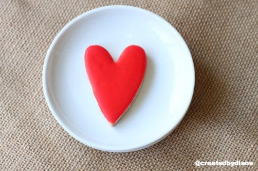 red hot heart cookies @createdbydiane