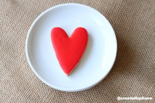 red hot heart cookies @createdbydiane