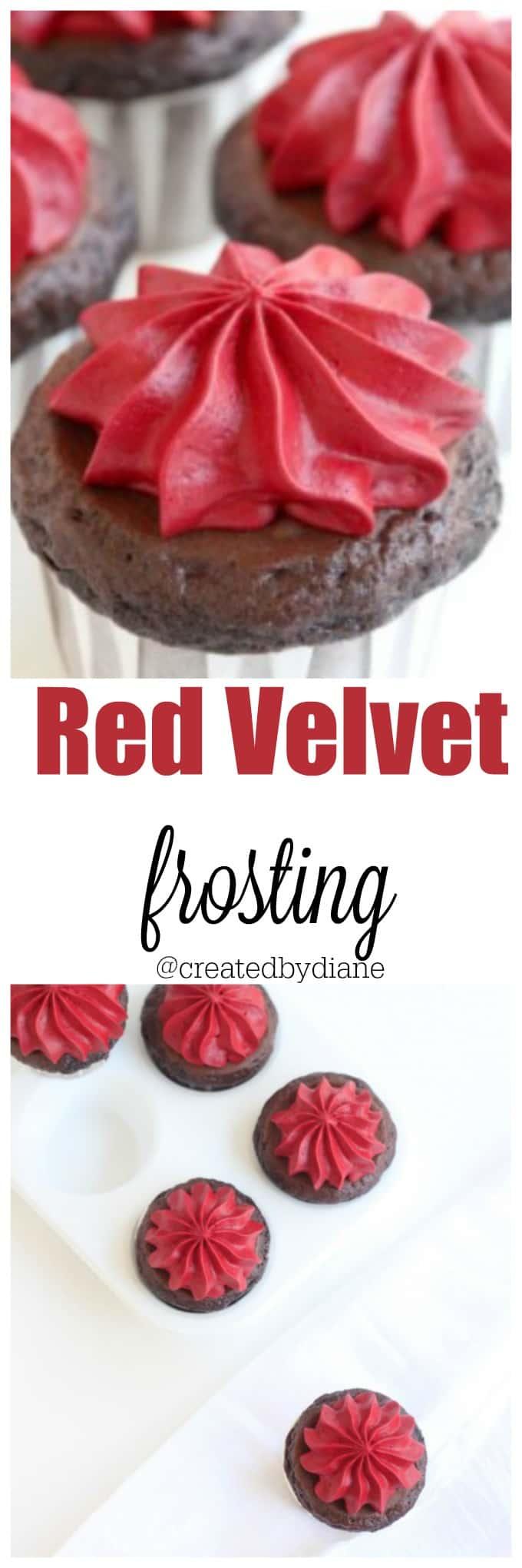 red velvet frosting recipe