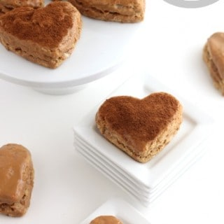 Coffee Scones with Coffee Icing