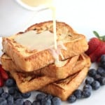 Drunken Rum French Toast with Rum Sauce @createdbydiane