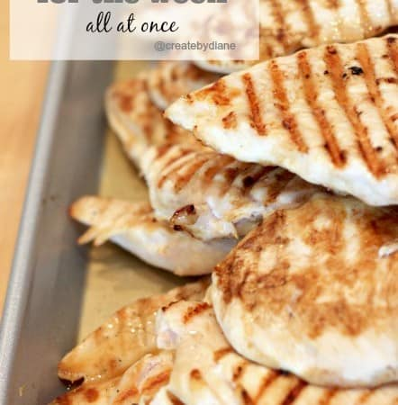How and Why I cook chicken for the week all at once @createdbydiane.jpg