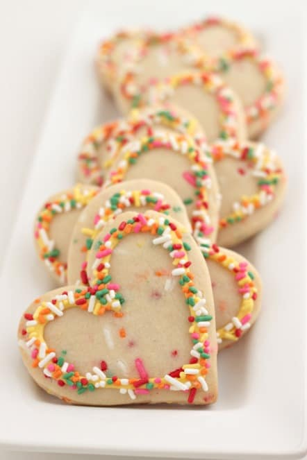 Lemon Cookies with SPRINKLES @createdbydiane