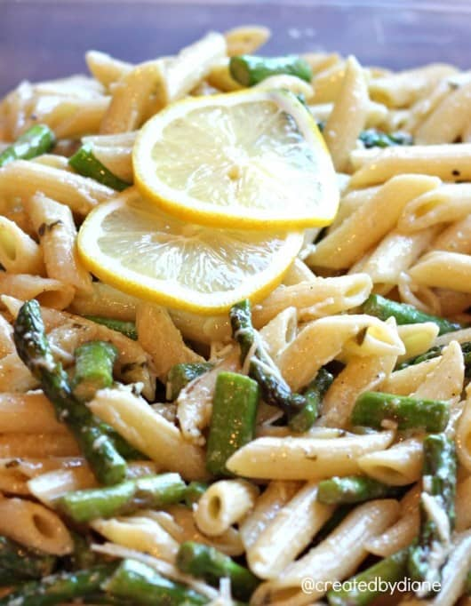 Lemon Pasta Salad from @createdbydiane