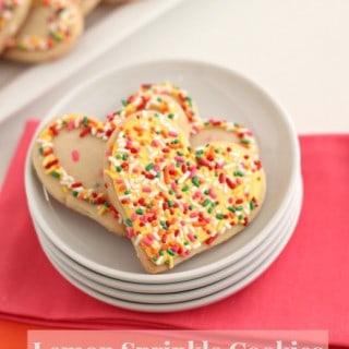 Lemon Sprinkle Cookies