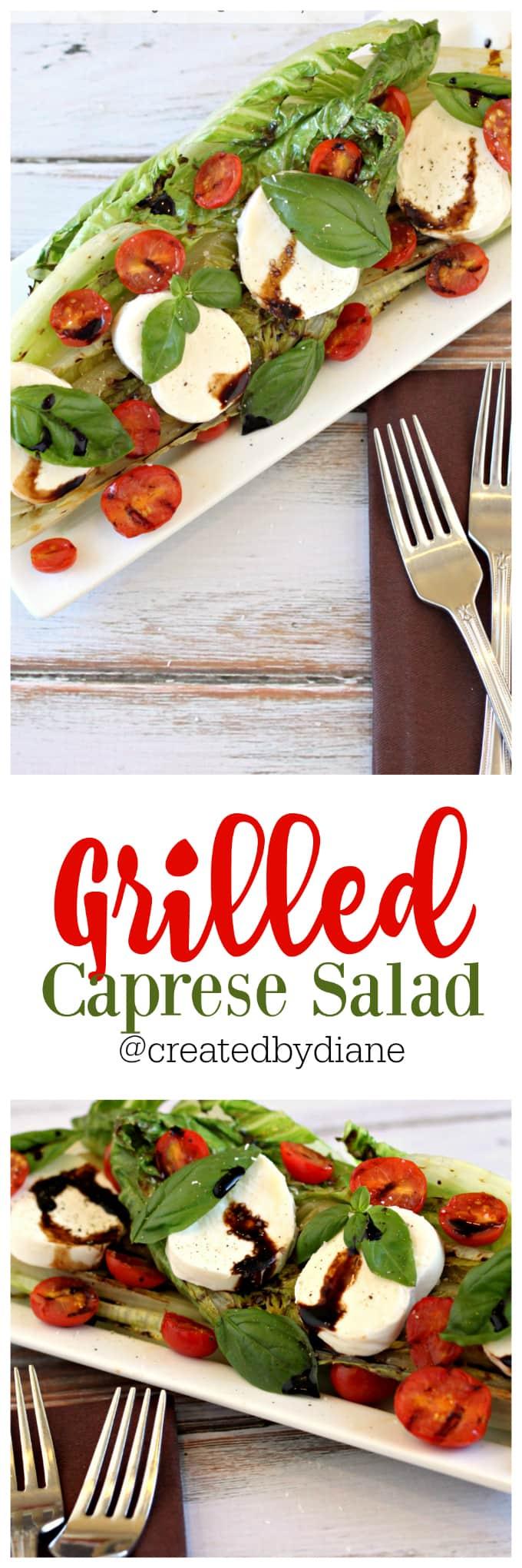 grilled caprese salad @createdbydiane