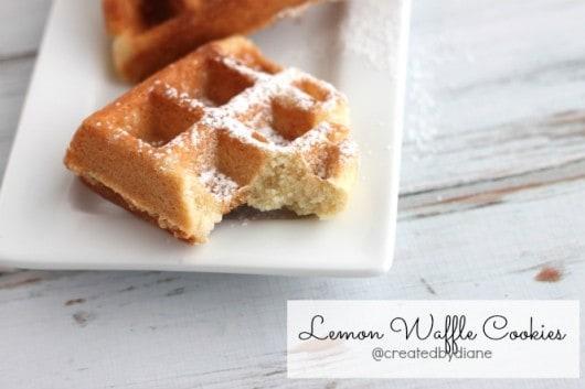 Waffle Cookies @createdbydiane