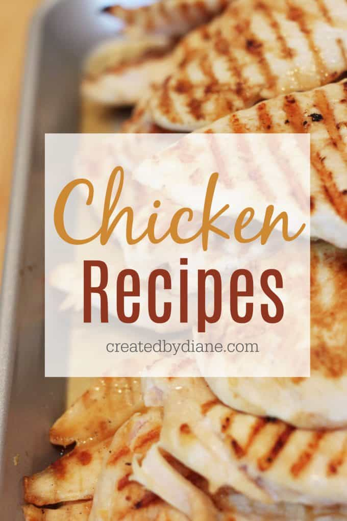 great chicken recipes createdbydiane.com