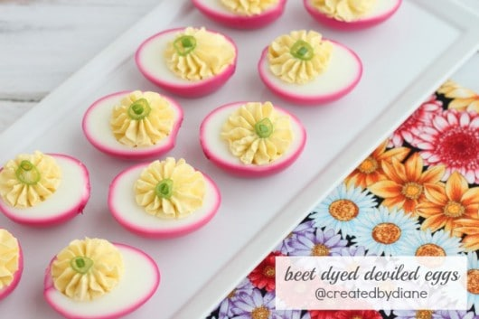 pretty deviled eggs