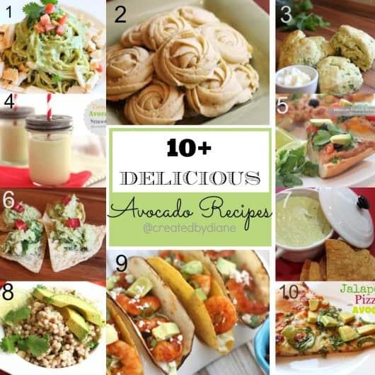 avocado-recipes-from-createdbydiane.com