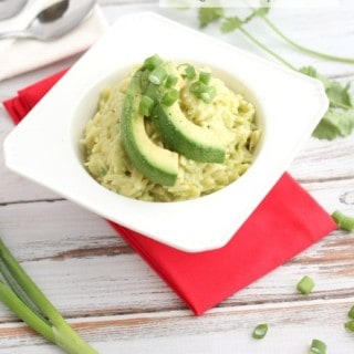 Avocado Orzo mac and cheese @createdbydiane @ca_avocados @kerrygolddairy