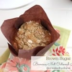 Brown Sugar Oatmeal Muffins @createdbydiane.jpg