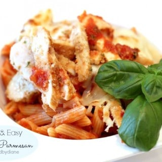 Quick Easy Chicken Parmesan @createdbydiane
