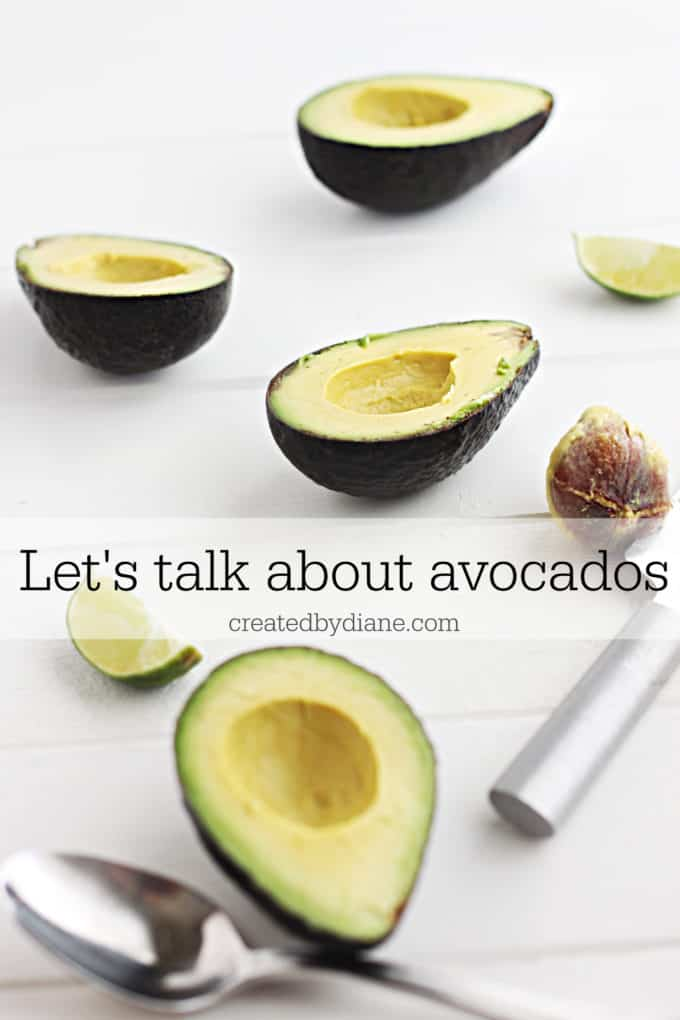 let's talk about avocados createdbydiane.com
