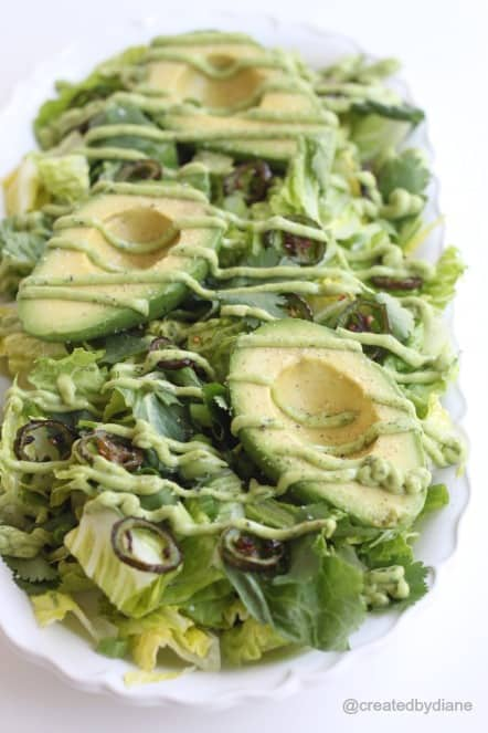 Avocado and Jalapeño Salad @createdbydiane.jpg