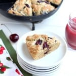 Fresh Cherry Scone Recipe @createdbydiane