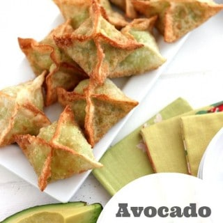 Avocado Cream Cheese Wonton Recipe