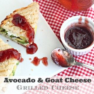 Grilled Goat Cheese and Avocado Sandwich