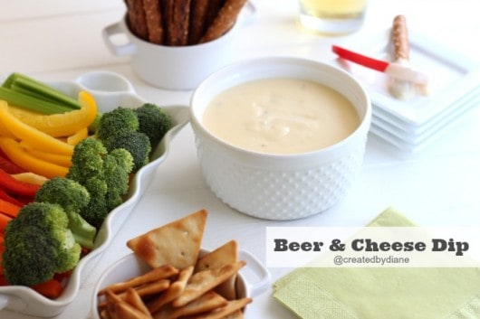 beer and cheese dip recipe @createdbydiane