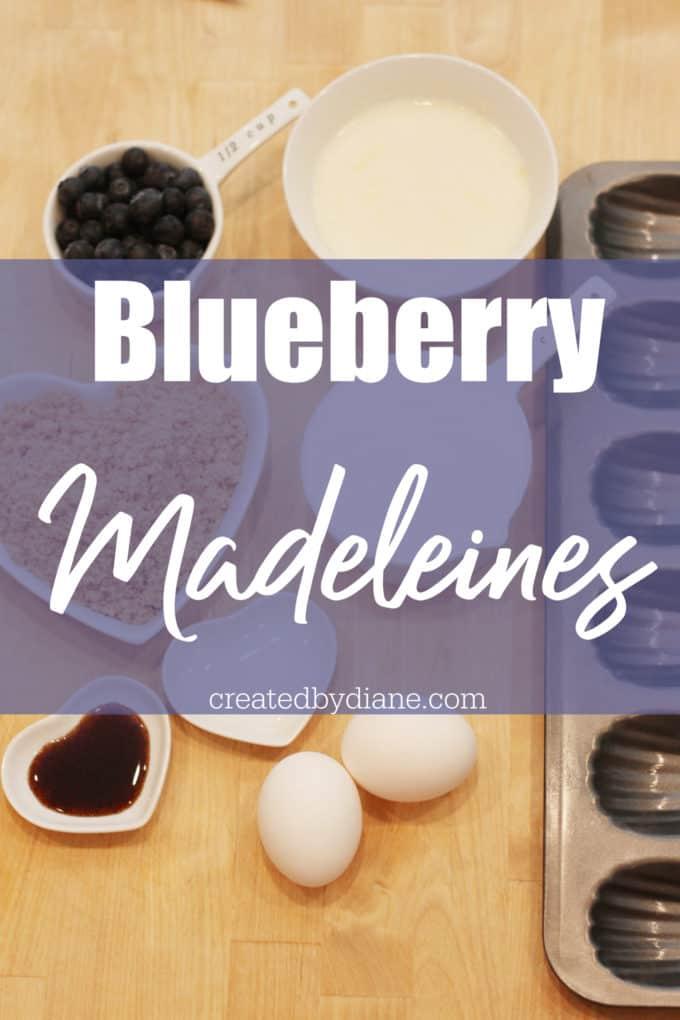 blueberry madeleines createdbydiane.com