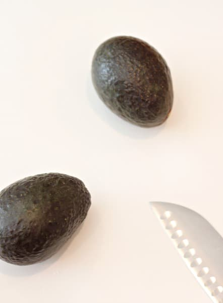 ripe California avocados