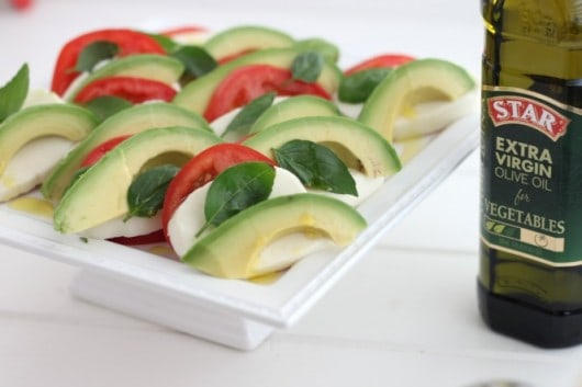 Avocado Caprese Salad with Star Olive Oil.jpg