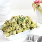 Avocado Potato Salad @createdbydiane