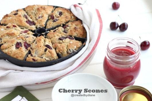 Cherry Scones @createdbydiane