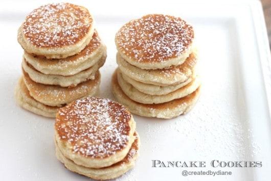 Pancake Cookies @createdbydiane #cookies