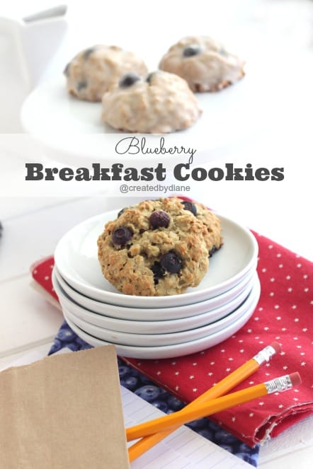 blueberry breakfast cookies @createdbydiane using @delmonte fruit burst