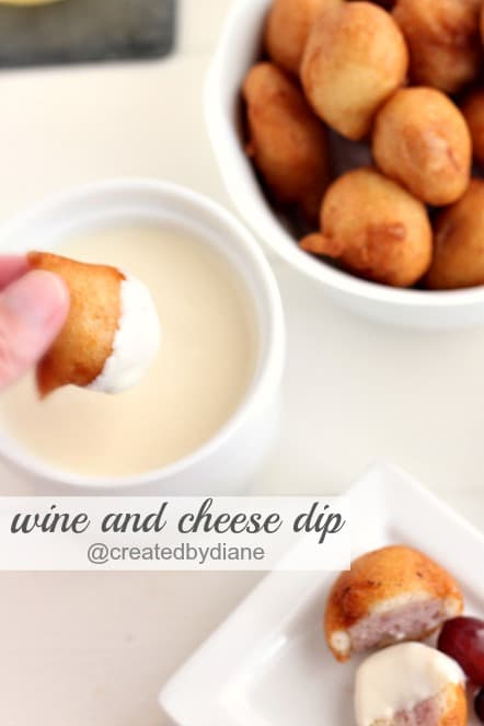 wine and cheese dip @createdbydiane