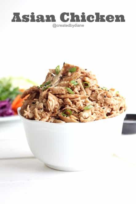 Asian Chicken Recipe @createdbydiane