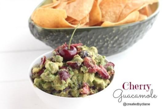 Cherry Guacamole Recipe @createdbydiane.jpg