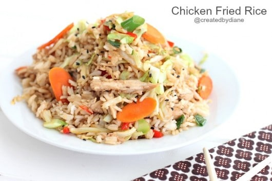 Chicken Fried Rice @createdbydiane