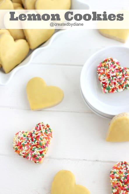 Lemon-Italian-Cookies-with-Lemon-Icing-from-@createdbydiane #cookies
