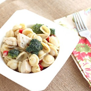 Pasta Primavera with Chicken