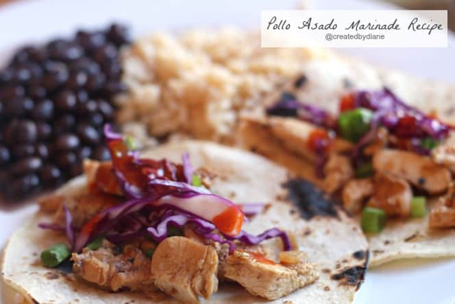 Pollo Asado Recipe @createdbydiane #chicken