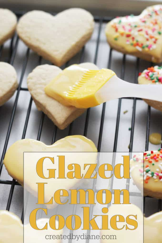 glazed lemon cookie createdbydiane.com