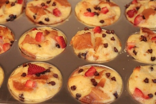 Strawberry Chocolate Chip Bread Pudding | Created by Diane