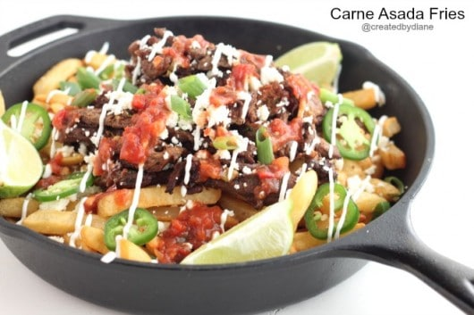 Carne Asada Fries from @createdbydiane