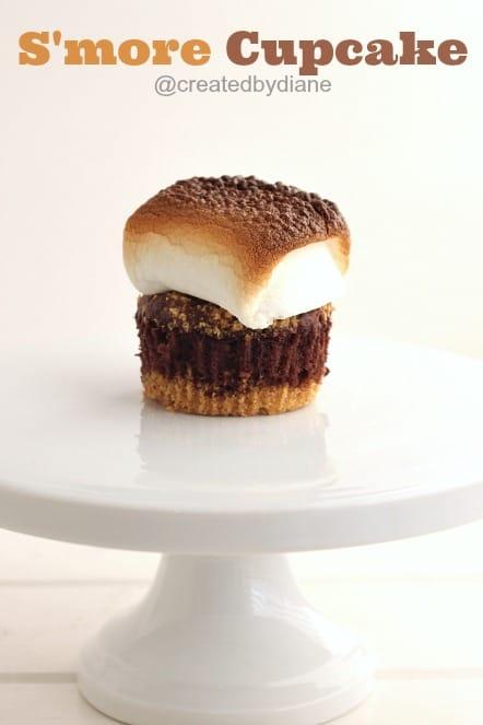 S'more Cupcake @createdbydiane